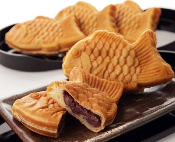 Boong uh ppang – Bánh cá nhân đậu đỏ