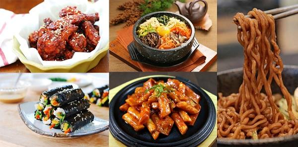 Các món ăn vặt Hàn Quốc vạn người mê